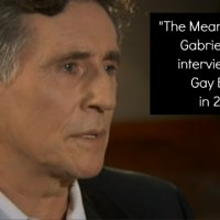 The Meaning of Life: Interview with Gabriel Byrne
