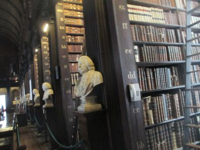I could have spent a year in the Long Room of the Library...