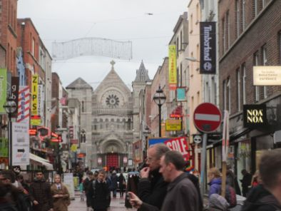 Old and new--Dublin is a great city.