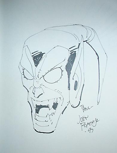 John Romita Jr Sketches