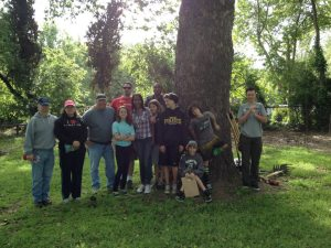 Brentwood & Byron Youth at Sierra Service Project Weekend