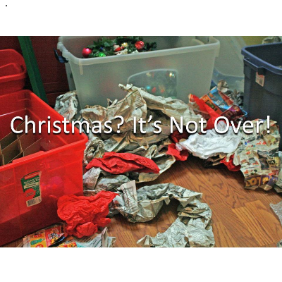 christmas? its not over