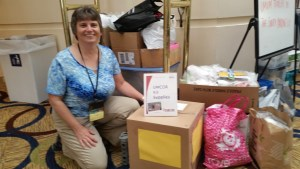 umcor kits boxed and delivered to annual conference