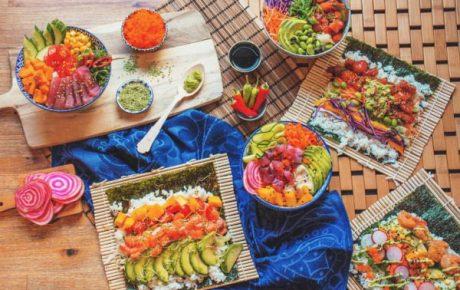 SUSHITO sushi burrito's en poké bowls spot