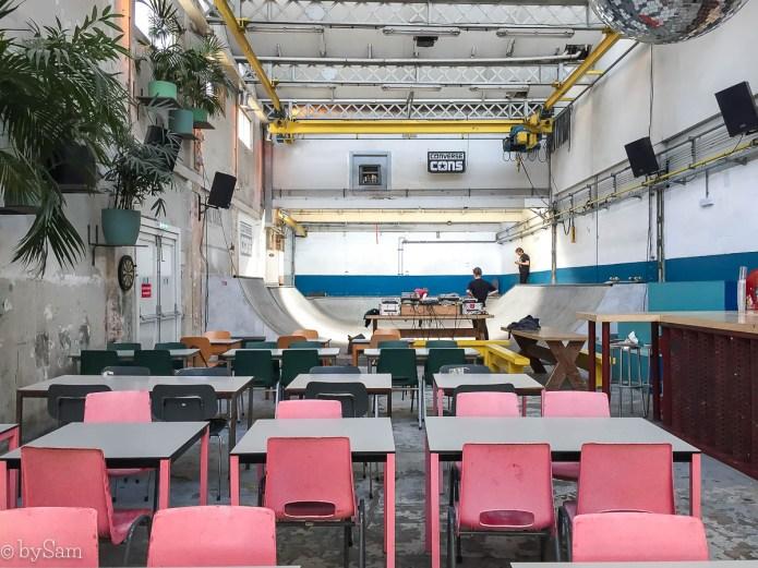 SkateCafe Amsterdam Noord blurring