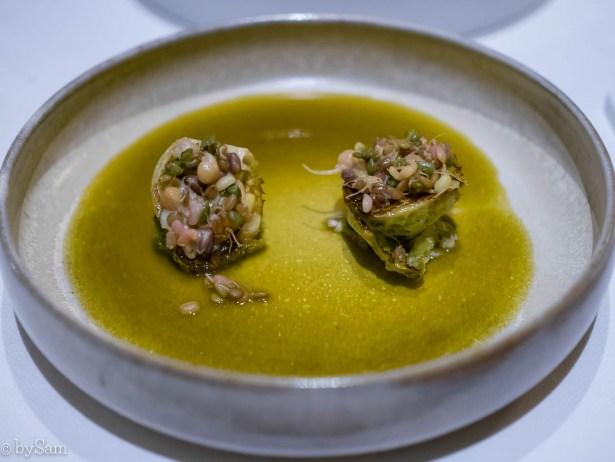 groentengerecht Restaurant Bord'Eau Amsterdam Centrum
