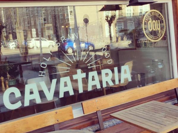 Cavataria Amsterdam Zuid restaurant bar