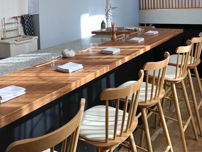 Diptych omakase restaurant Amsterdam