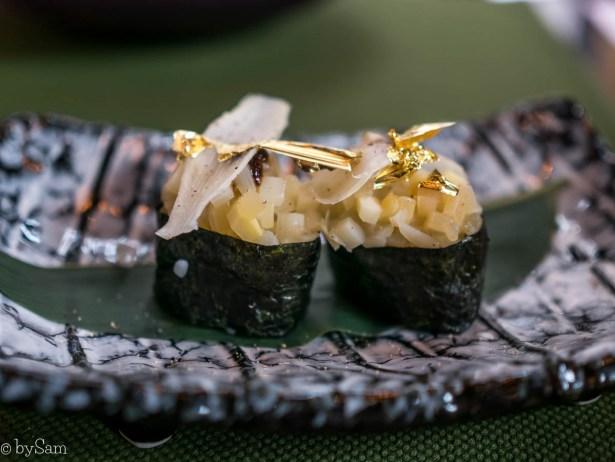 Vegan sushi Taiko Amsterdam