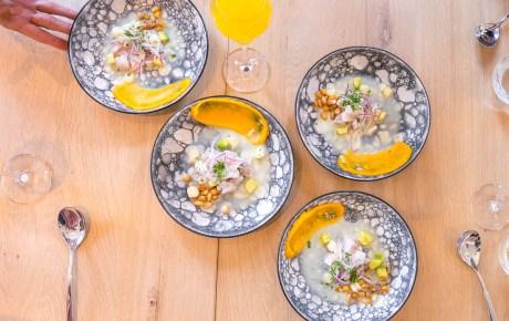 Kleurrijke en verrassende gerechten bij nieuwe Peruaan NAZKA