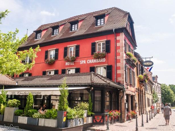 Hotel Spa Chambard Kaysersberg Alsace