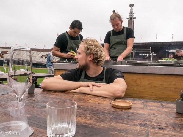 Joris Bijdendijk Michelinster chef Amsterdam Restaurant Wils