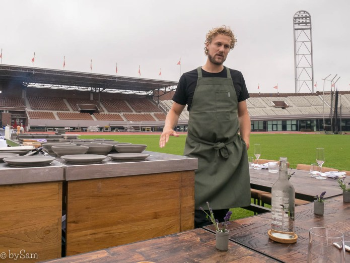 Chef Joris Bijdendijk