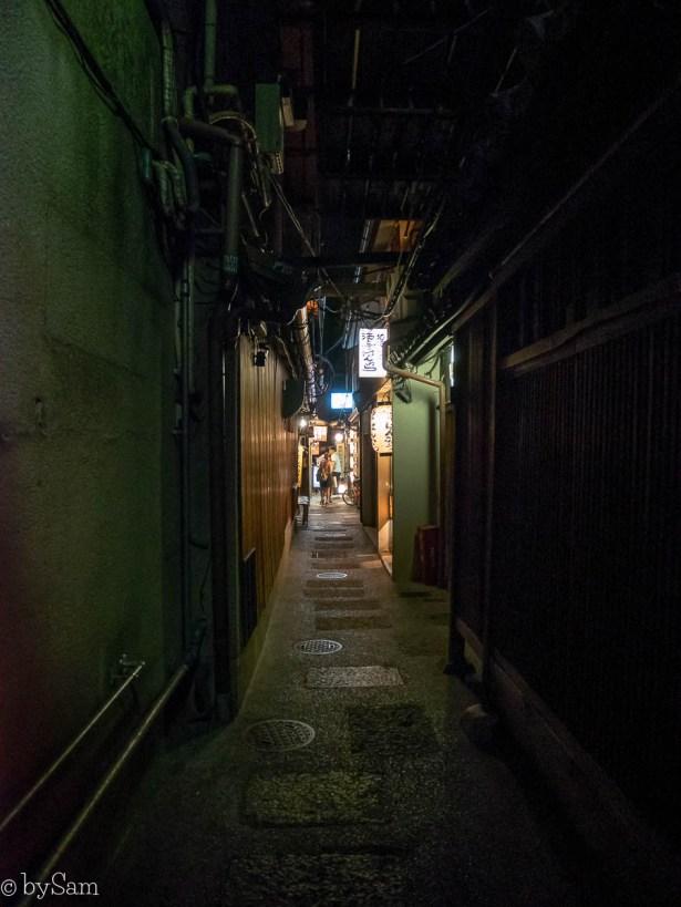 Pontocho Alley Kyoto restaurants izakaya