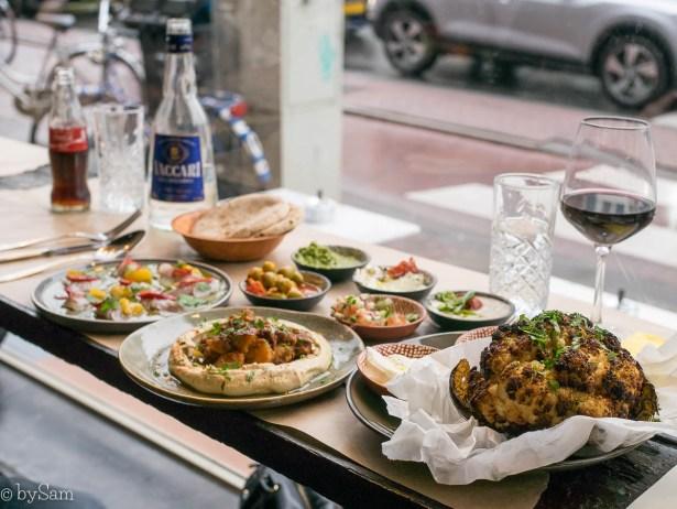 Ben Cohen Street Food Amsterdam Tel Aviv Israelisch