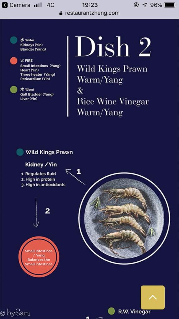 Restaurant Zheng menu chinees Den Haag