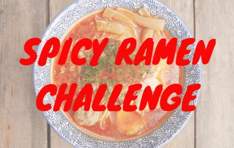 Er komt een Spicy Ramen Challenge. Word jij de Spicy Ramen Koning(in) van Amsterdam?