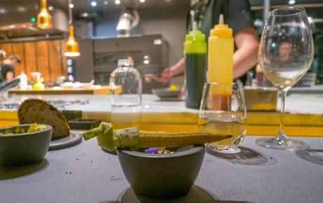 Vuurbazen zorgen voor een culinair spektakel bij restaurant Wils