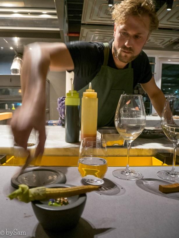 Chef Joris Bijdendijk restaurant Wils Amsterdam Zuid