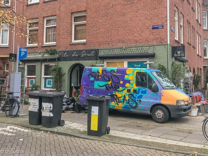 Restaurant Fete de Soul Amsterdam Zuid De Pijp