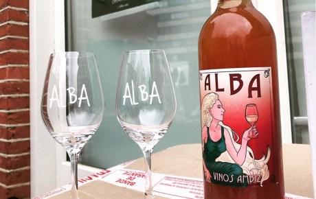 Alba nieuw restaurant en wijnbar op de Wibautstraat in Amsterdam oost