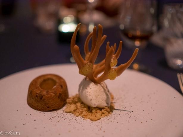 Uit eten restaurant Felix dessert