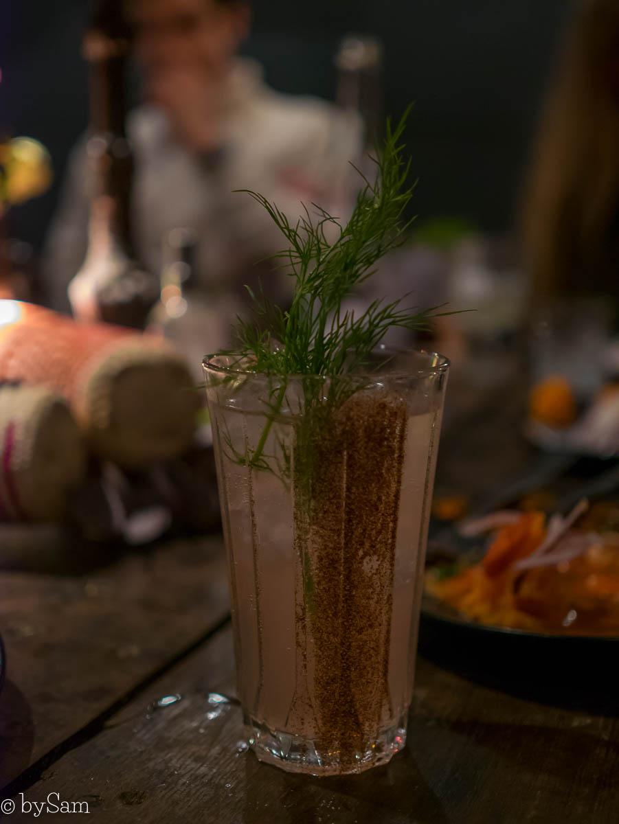 Cocktails Amsterdam Salmuera