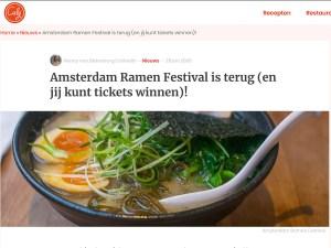 Amsterdam Ramen Festival Culy.nl