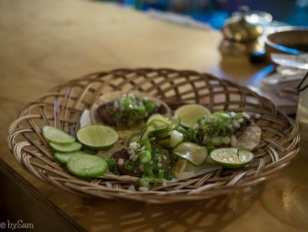 Mexicaans restaurant Bacalar Amsterdam Noord taco's uit eten