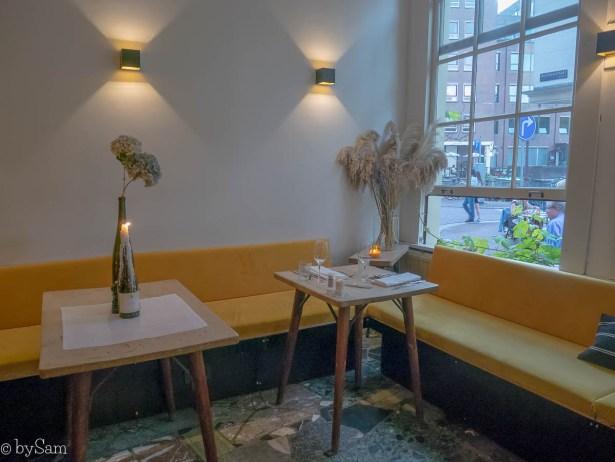 Restaurant Watergang Amsterdam centrum