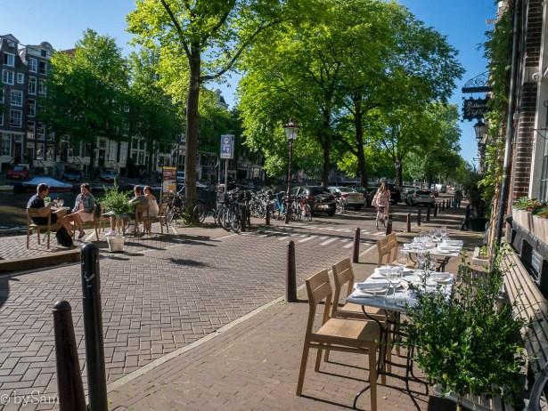 Sagardi Amsterdam terras restautant