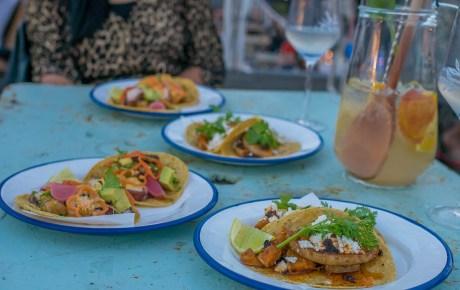 Sjefietshe en MasMais grandioze taco fiësta bij Sammie Sangria