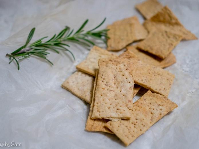 Zuurdesemcrackers recept