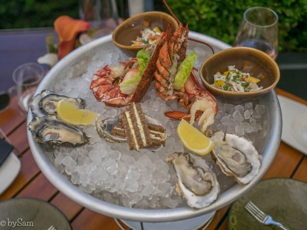 Serre Seafood Sunday brunch