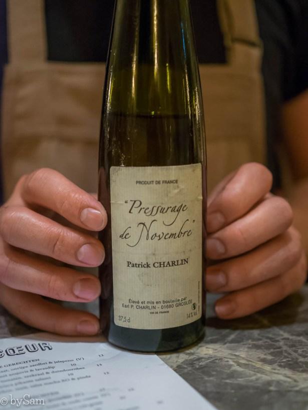 Champagne en wijnen restaurant Le Coeur