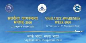 Vigilance Awareness Week 2020 Being Observed from 27 October 2020 to 02 November 2020