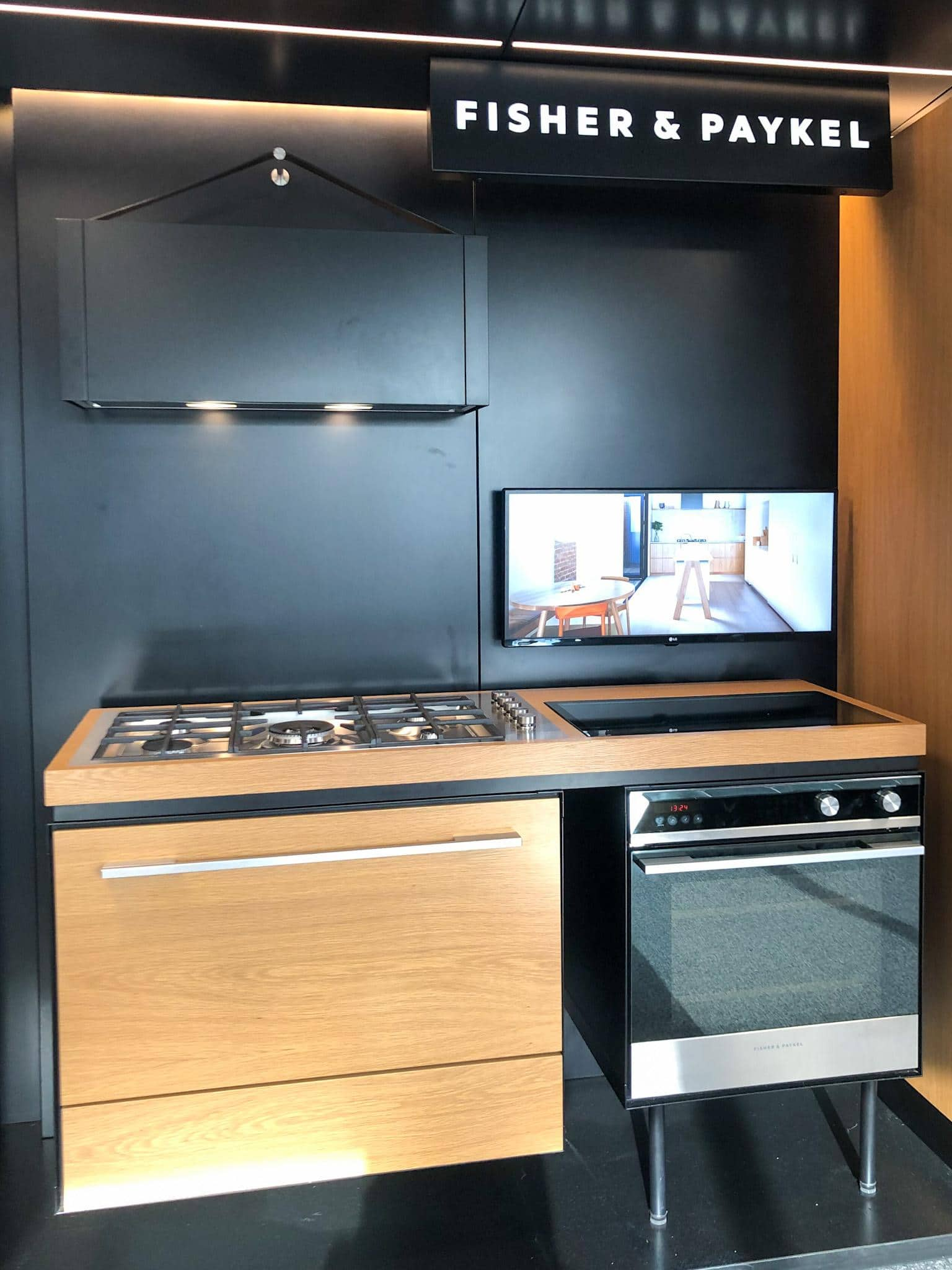 fisher and paykel kitchen design