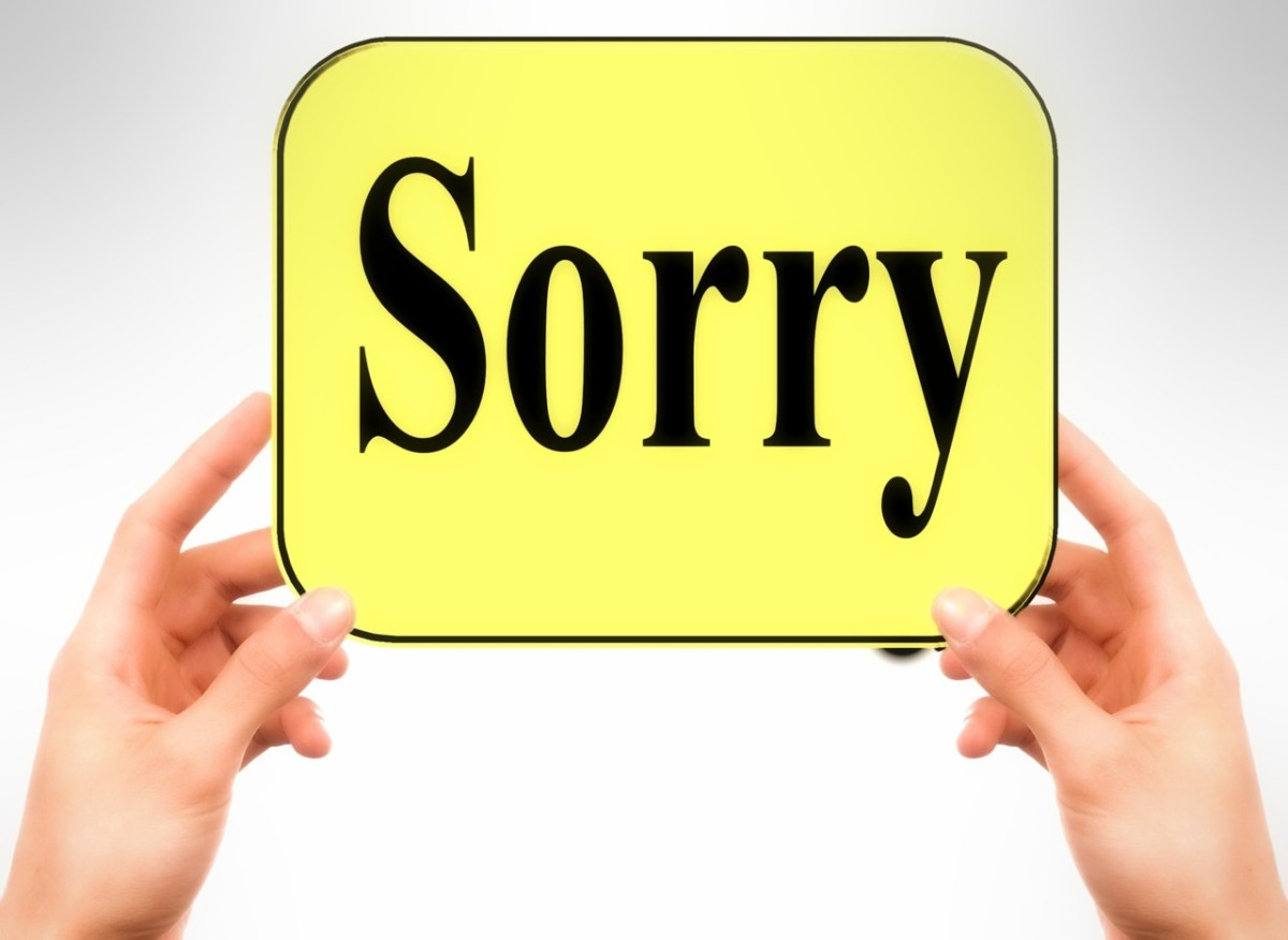 An Apology