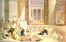 Preaching Christ in the Temple, by Alexander Ivanov