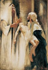 Master I Have Brought Unto Thee My Son, by Walter Rane