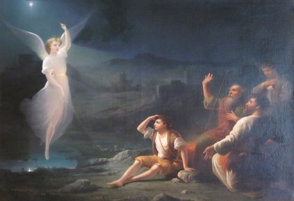 The Angel Appearing before the Shepherds, by Thomas Buchanan Read