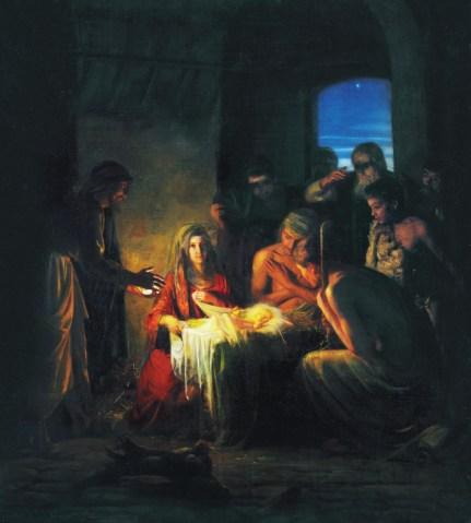 The Birth of Jesus, by Carl Heinrich Bloch