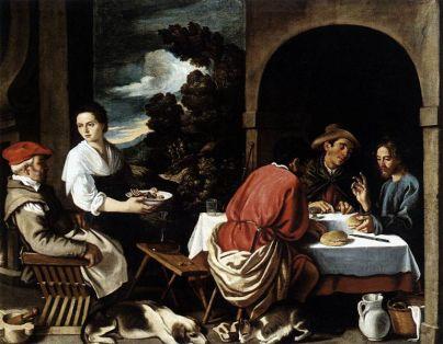 Jesus Eating (unknown)