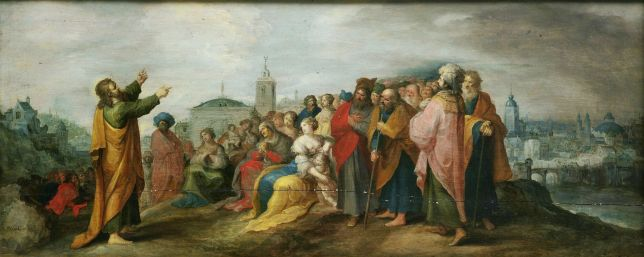 Sermon on the Mount by Frans Francken II