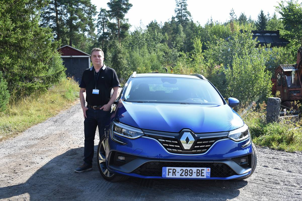 Test Renaults nya hybridbilar Captur, Clio och Megane E-TECH