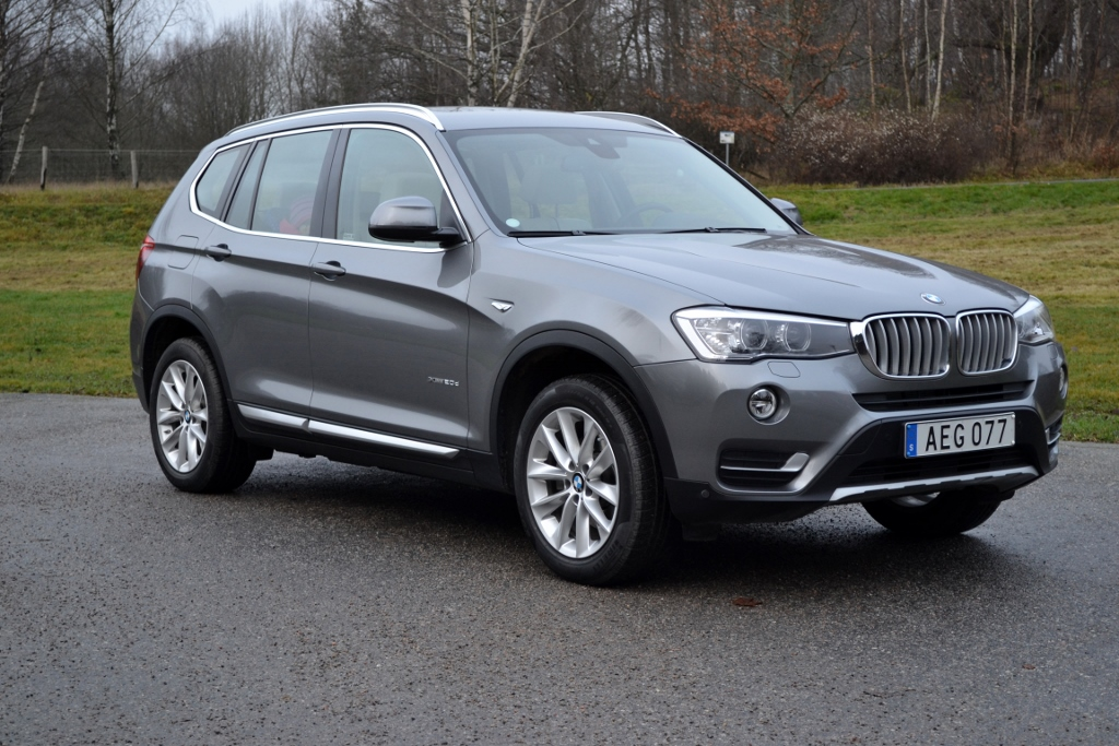 Test BMW X3 xDrive20d