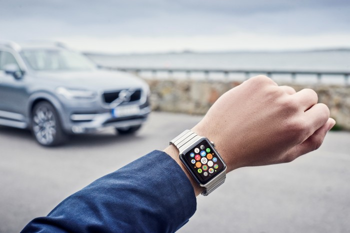 apple watch volvo