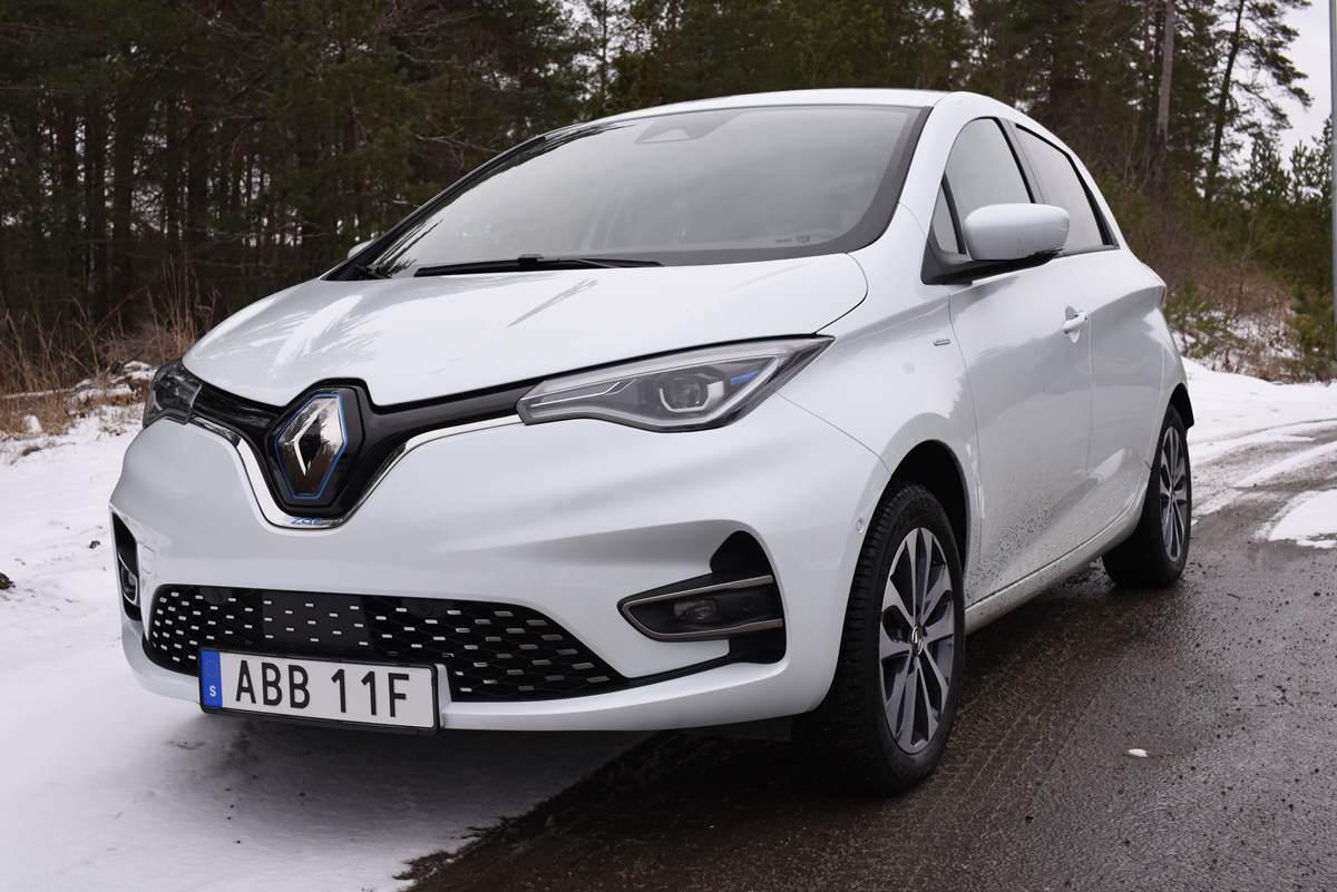 Test Renault Zoe 2020 – Tyst elbil med bra räckvidd