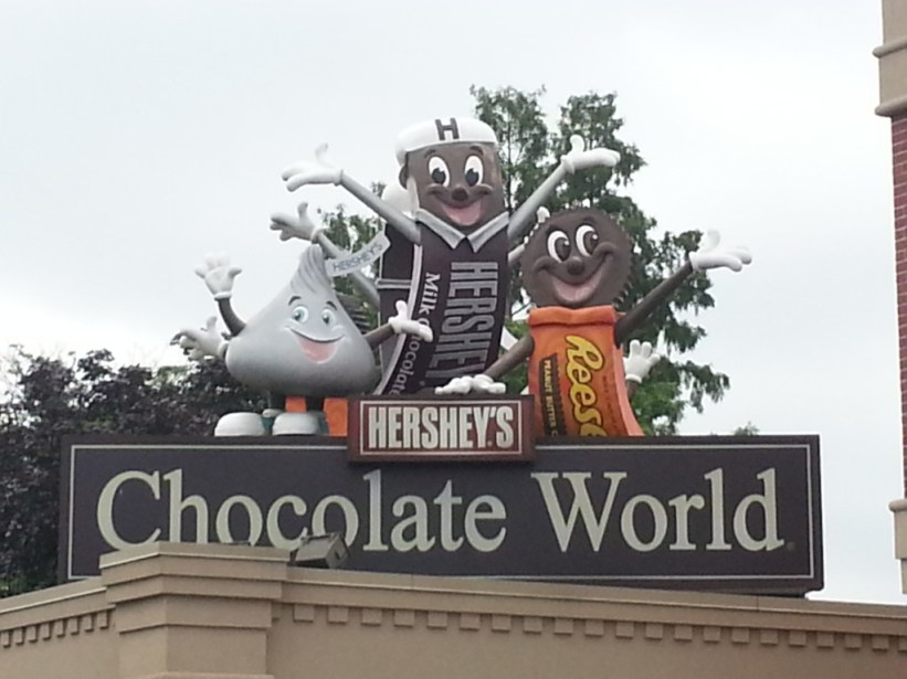 Love me some Hershey Park!