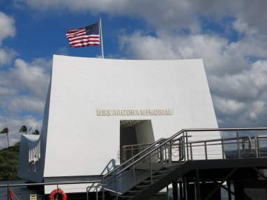 Arizona Memorial Close-up